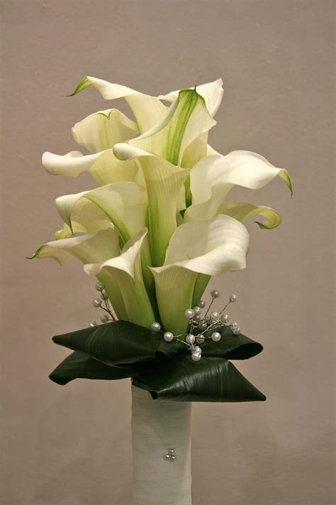 Wedding Bouquet With Calla Lilies by Calla Wedding Flowers Wedding Flowers Ireland