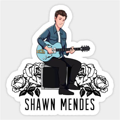 Shawn Mendes Stickers shawn mendes shawn mendes sticker teepublic