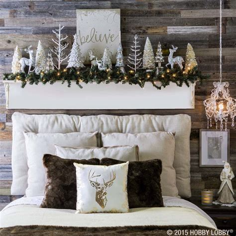 decorating inspiration 35 ways to create a christmas wonderland in your bedroom