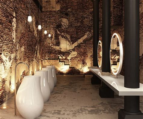 restaurant bathroom design 25 best ideas about public bathrooms on pinterest