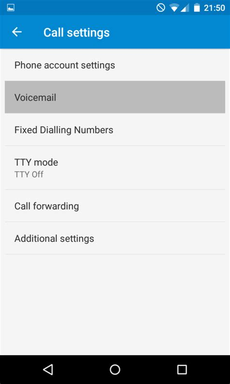 How to setup voicemail on Android Lolipop   The giffgaff community