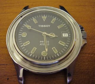u boat watch glass replacement tissot seastar 1000 silver tone lost outer bezel 11 13 13