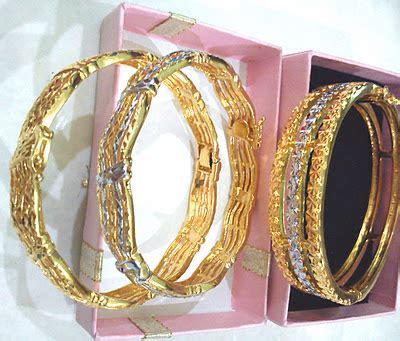 Setelan Rantai Karisma Putih 1 Set 2 Pcs want to sell pemborong emas sadur 24k rantai gelang dewasa kanak 2 pm utk special price