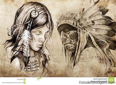 north american tribal tattoos american indian tattoos best images collections hd