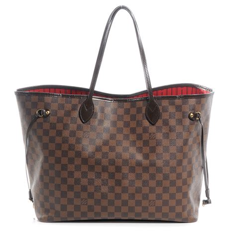Neverfull Damiere louis vuitton damier ebene neverfull gm 55060