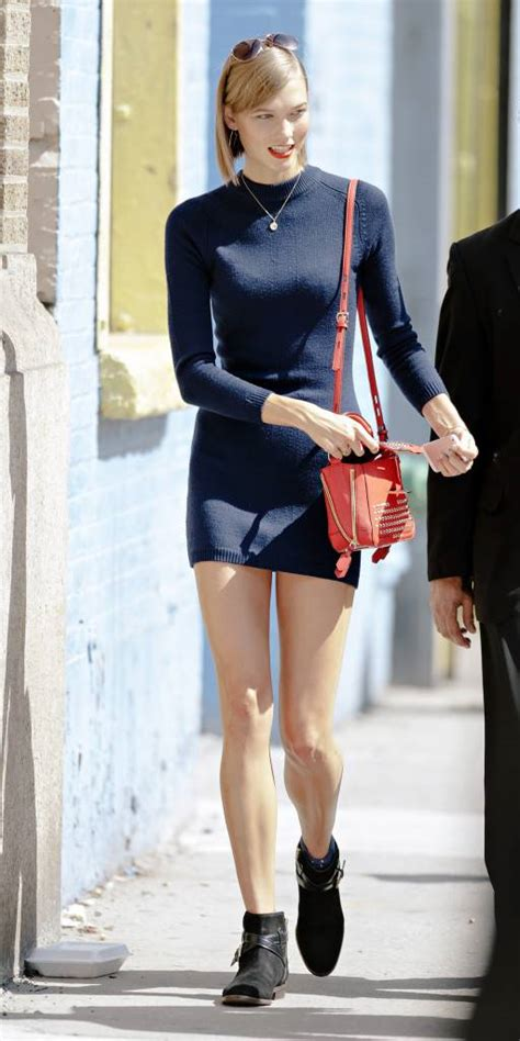 Sweater Sella09 american fashion model karlie kloss spotted with coach in