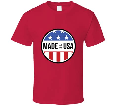 fans made in usa made in the usa fan t shirt
