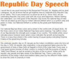 Republic Culture Essay by Unique 26 January Republic Day Speech In And 2016