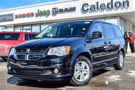 Bolton Chrysler Dodge Jeep 2016 Dodge Grand Caravan Black Caledon Chrysler Dodge