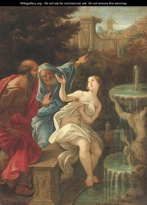 painting for elders susanna and the elders after battista