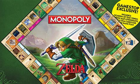 legend of zelda monopoly map this is the zelda monopoly game board out next month 9gag
