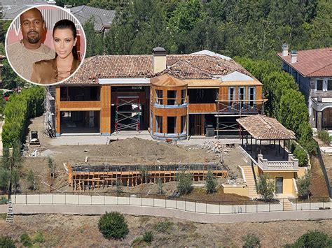 kanye west house kim kardashian and kanye west selling bel air mansion for 20 million people com