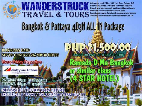 bangkok pattaya   package wanderstruck travel tours