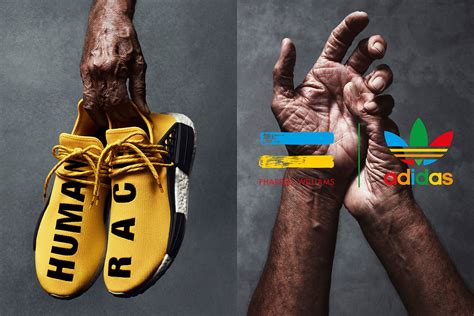 Sepatu Running Adidas Human Race Pharel Williams get an official look at the adidas x pharrell nmd human