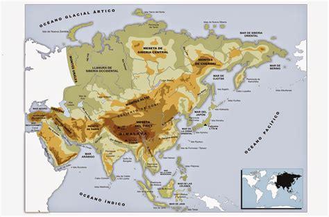 clar 237 n digital 56 los continentes mapa f 237 sico y mapa
