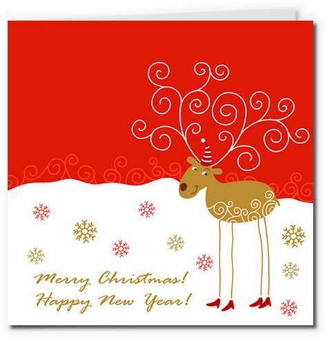 printable reindeer card 40 free printable christmas cards hative