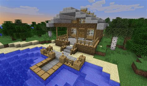 minecraft beach house minecraft beach house outside by it itches on deviantart
