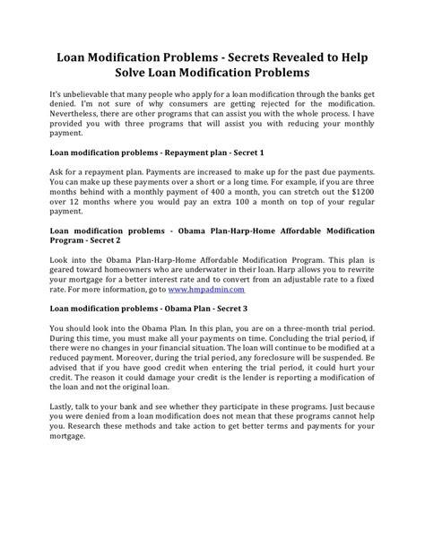 sle hardship letter b of a loan modification programs free problems