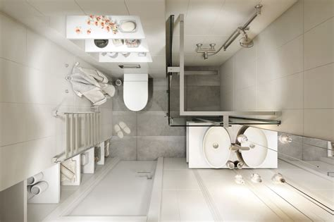 compact bathroom layout 4 small apartments showcase the flexibility of compact design