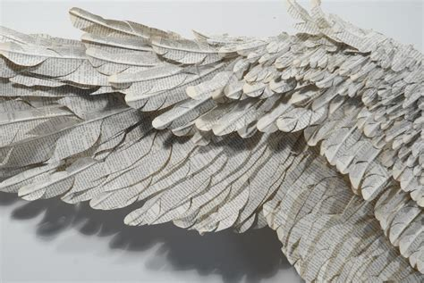How To Make Wings Out Of Paper - artslant susan hannon