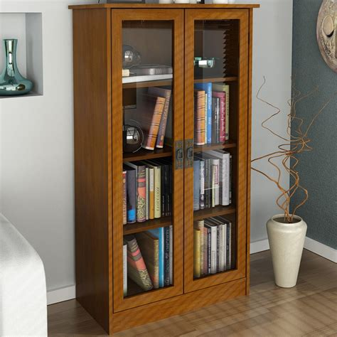 black bookcases with glass doors wooden shelves with doors ikea lazy susan lazy susan
