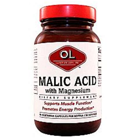 Malic Acid Liver Detox by Buy Olympian Labs Malic Acid 90 Caps Australia