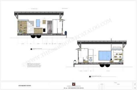 Free Tiny House Plans The Bohemian Tiny House On Wheels Free Plans For Tiny House On Wheels