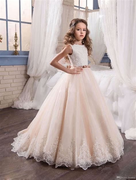 Flower Dresses For Weddings by Get Cheap Pageant Gowns Aliexpress