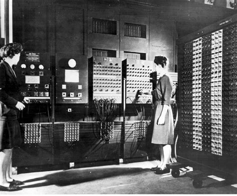 30 Square Meters Women S History Month Eniac First Computer Programmers