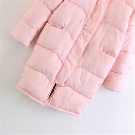 Bulu Bulu Sintetis Impor 80x90cm butik baju import jaket bulu angsa sintetis jaket musim dingin jyb45594 pink