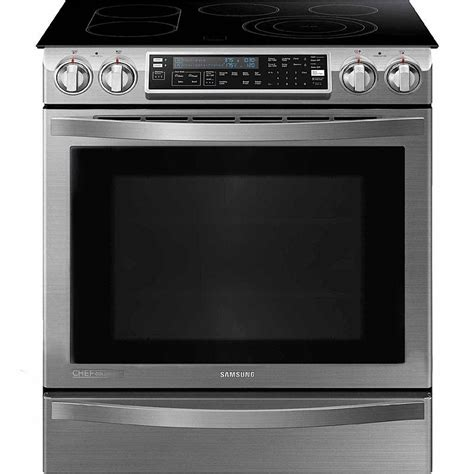 chef ovens and cooktops samsung ne58h9950ws 5 8 cu ft slide in electric chef