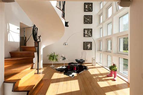 duplex apartment in berlin with refined luxury interior custom designed height duplex apartment in mexico