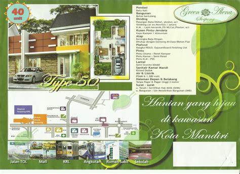 Jual Green Di Medan rumah dijual rumah murah di serpong quot green alena quot
