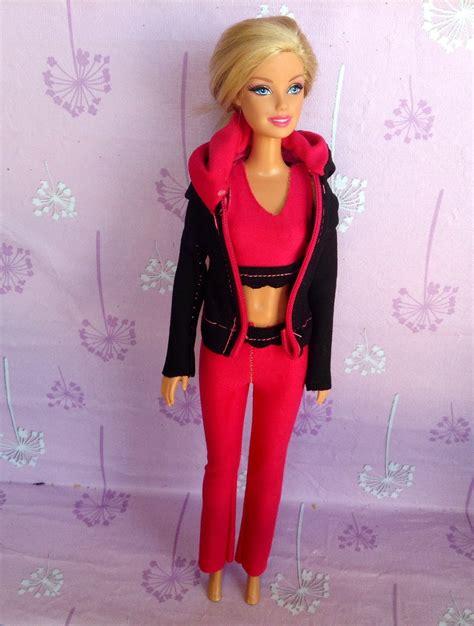 como hacer ropa para barbie como hacer ropa deportiva para barbie youtube