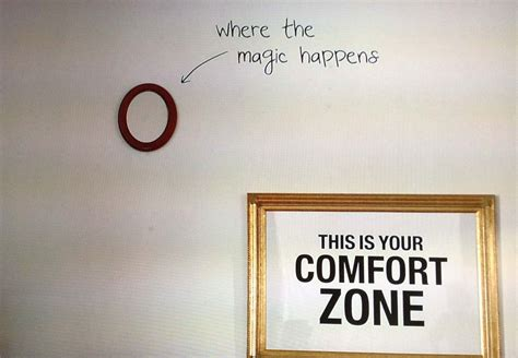girls comfort zone getting comfortable outside your comfort zone graphic