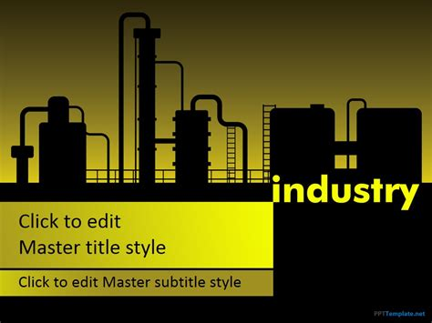 Free Manufacturing Industry Ppt Template Engineering Powerpoint Templates Free