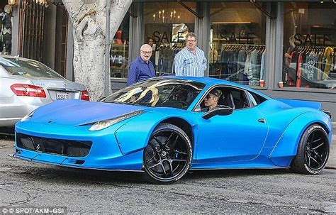 Justin Bieber Ferrari by Ferrari That Justin Bieber Forgot He Owned Up For Auction