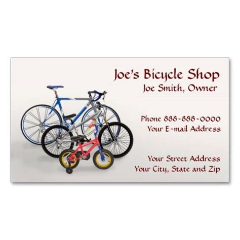 Bike Business Card Template 1000 images about bicycle business cards on