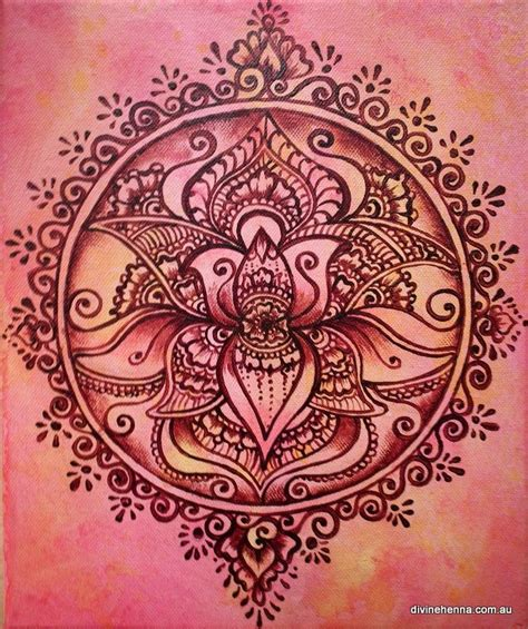 henna tattoo designs lotus 41 best images about mandala on back