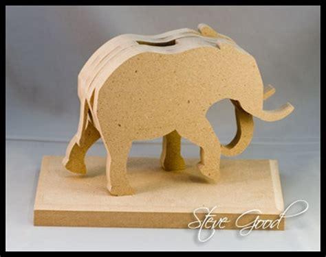layered elephant bank pattern scroll  ideas scroll