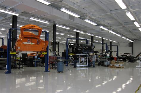 Tesla Manufacturing Plant Tesla Model S Assembly Plant Facilities Auto Car Reviews