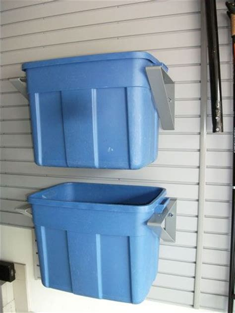 Garage Storage Bin Ideas 81 Best Images About Slat Wall On Retail Store