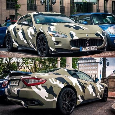 camo maserati 8 best themed cars images on cars cool cars