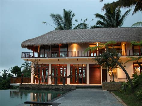 achitecture beautiful balinese home design in pictures