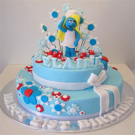 Home Decorations Online by Smurf Cakes Food Photo 31732695 Fanpop