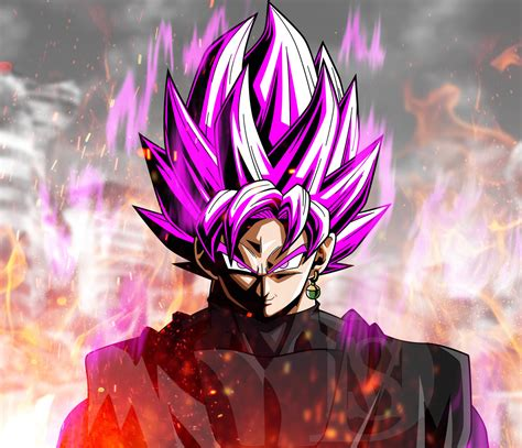 imagenes de goku rose super saiyan rose black goku w city destroyed by