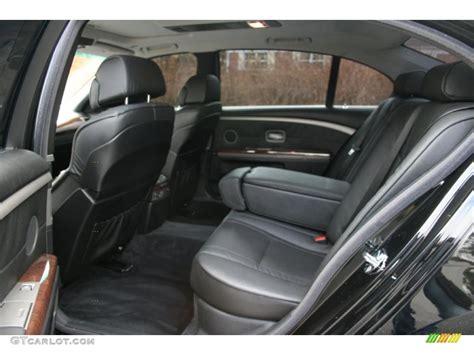 Bmw 745li Interior by Black Black Interior 2005 Bmw 7 Series 745li Sedan Photo
