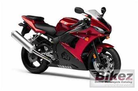 2007 Yamaha YZF R6S specifications and pictures