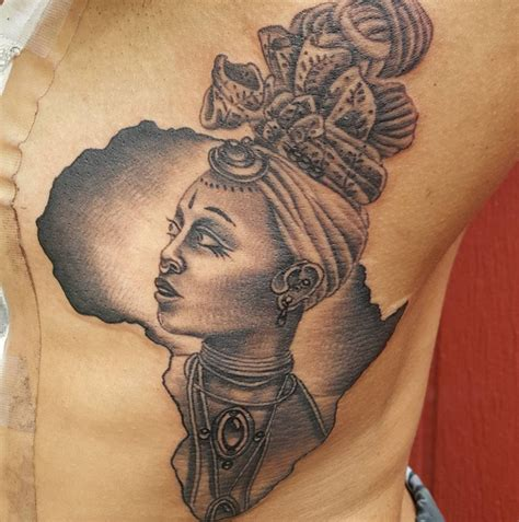 tattoo african queen image result for african woman tattoo tats pinterest