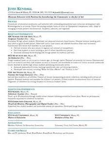 Resume Sle For Education by Resume Sales Lewesmr